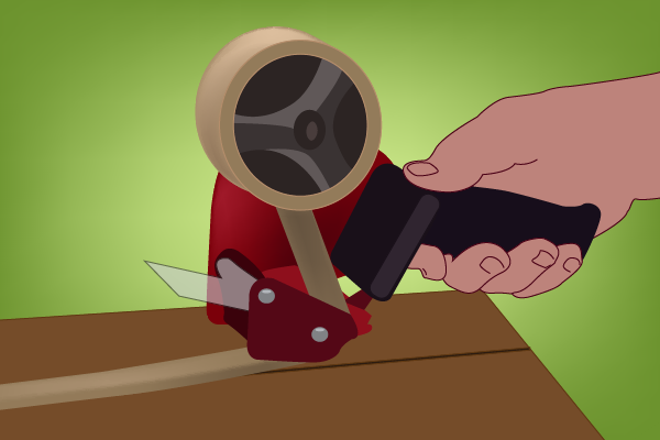 How To Use A Packing Tape Dispenser Premier Handling Equipment